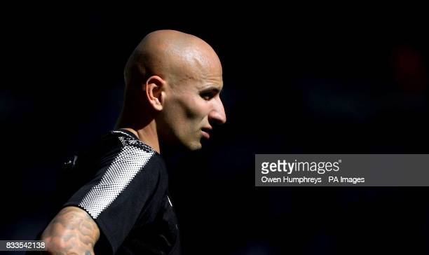 Newcastle United's Jonjo Shelvey during the open day at St James' Park Newcastle