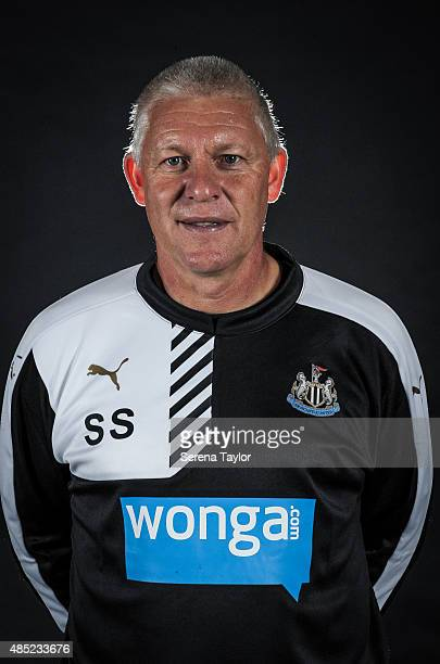 Newcastles Goalkeeping Coach Simon Smith poses for his head shot during a Newcastle United Photocall at The Newcastle United Training Centre on July...