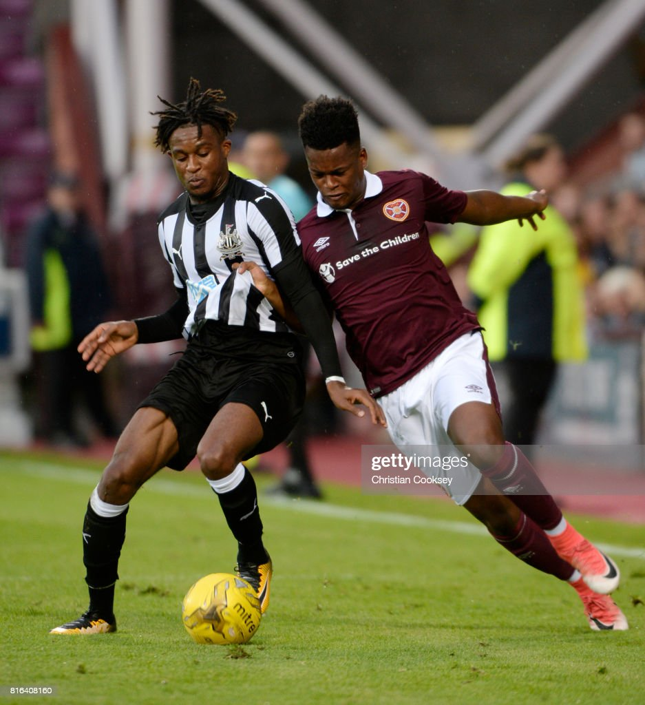 Hearts v Newcastle - Pre Season Friendly : News Photo