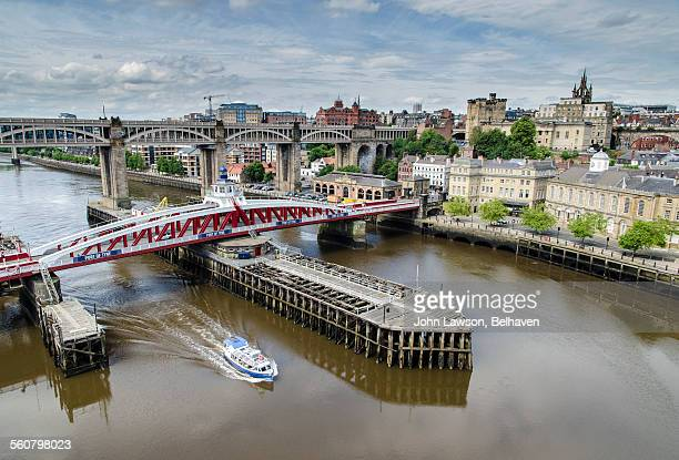 Newcastle-upon-Tyne, Tyne River and skyline