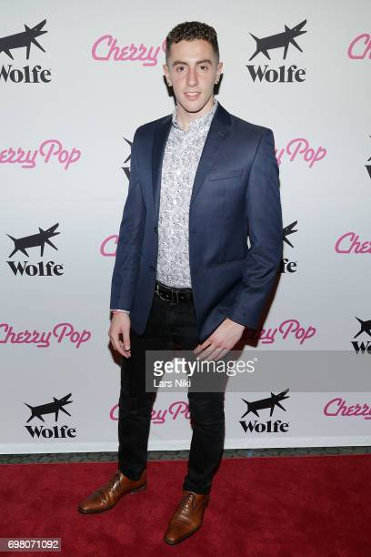 NewFest Award Winner Joe Sulsenti attends the Cherry Pop Premiere at OutCinema Presented by NewFest and NYC Pride at SVA Theater on June 19 2017 in...