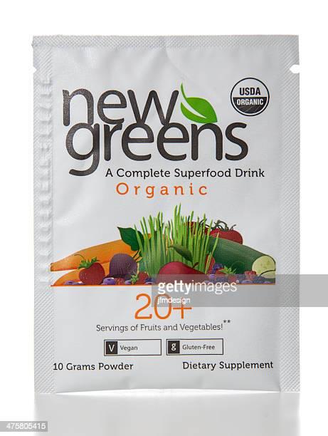 NewGreens 20 bio alimentaire supplément Goûtez Paquet