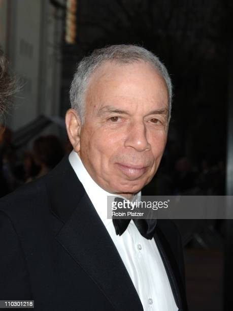 SI Newhouse during 'Madama Butterfly' Opening Night Starting the Lincoln Center Metropolitan Opera 20062007 Season at Lincoln Center in New York New...