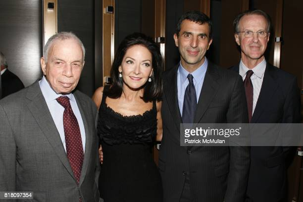SI Newhouse Jr Margaret Russell Giulio Capua and Thomas Wallace attend Conde Nast Welcomes Margaret Russell as Architectural Digest's EditorInChief...