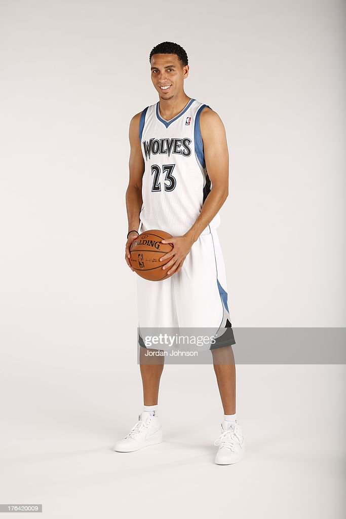 Newly acquired Kevin Martin of the Minnesota Timberwolves poses for portraits on August 8, 2013 at Target Center in Minneapolis, Minnesota.