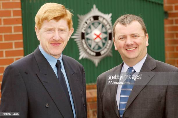 Newly appointed assistant Chief Constables for the Northern Ireland Policing Board Duncan McCausland and Roy Toner whose posts were announced * The...