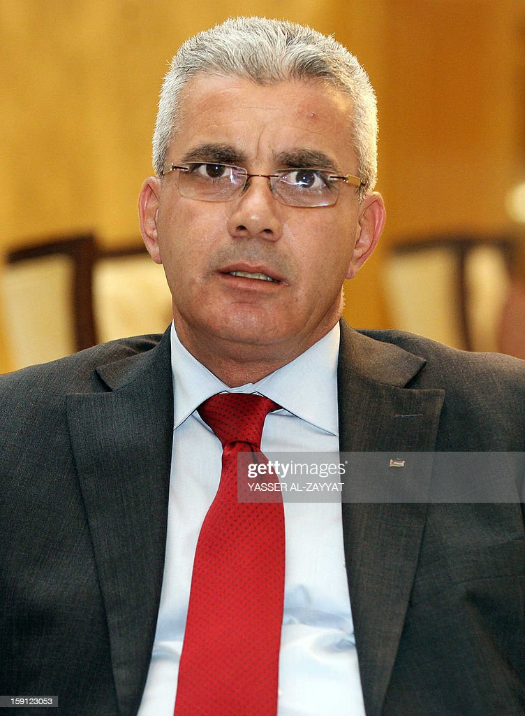 Newly appointed Palestinian ambassador to Kuwait Rami Tahboub arrives in Kuwait City on January 8, 2013. Tahboub is the first Palestinian ambassador to Kuwait since 1990 when relations broke over perceived Palestinian Liberation Organisation (PLO) support for the Iraqi invasion of Kuwait.