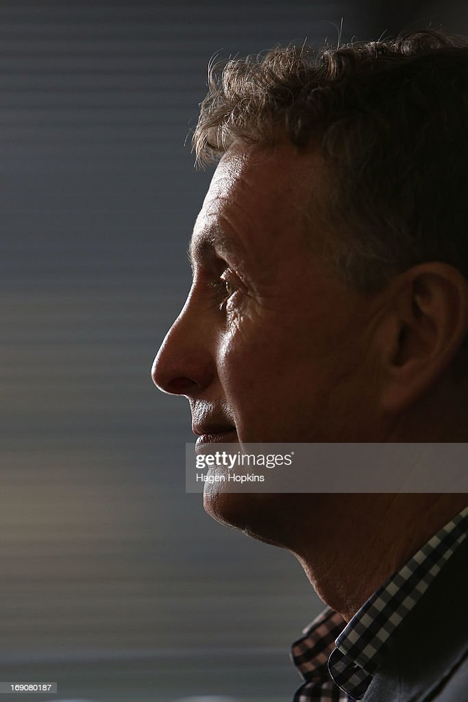 Newly appointed Phoenix coach Ernie Merrick looks on during a Wellington Phoenix A-league press conference at Westpac Stadium on May 20, 2013 in Wellington, New Zealand.