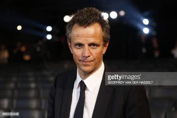 Newly appointed Publicis CEO Arthur Sadoun poses during a Publicis general assembly on May 31 2017 in Paris Arthur Sadoun will become CEO of Publicis...
