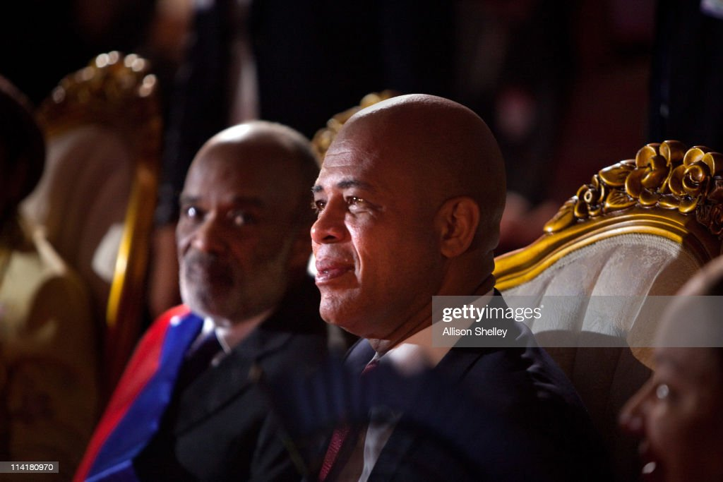 Michel Martelly Inaugurated As President Of Haiti