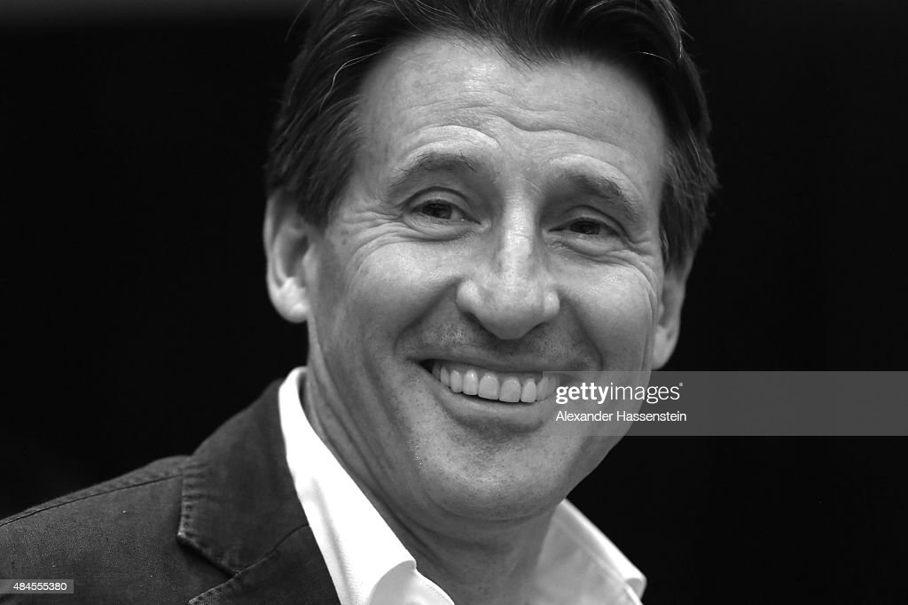 Newly elected IAAF president Sebastian Coe attends the IAAF World Championships Beijing 2015 press conference at the China National Convention Centre, CNCC on August 20, 2015 in Beijing, China.