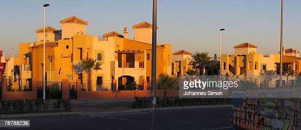Newly erected housing estates are seen on February 14 2007 in Torrevieja Spain Over the past five years Spain has been building over 800000 homes a...