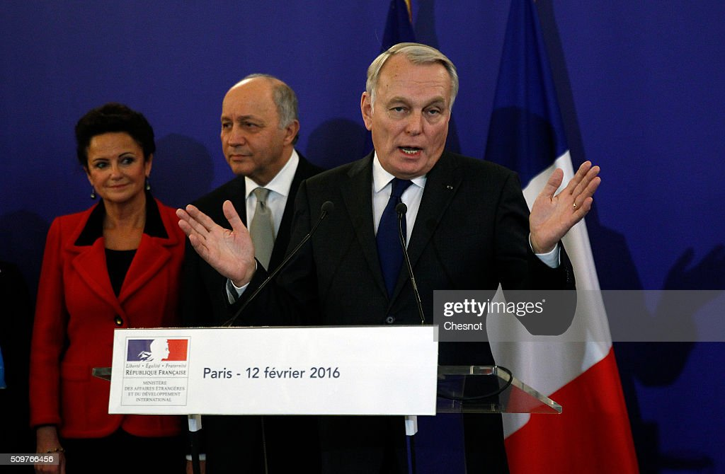 Jean-Marc Ayrault Newly Appointed Foreign Minister  At Quai d'Orsay