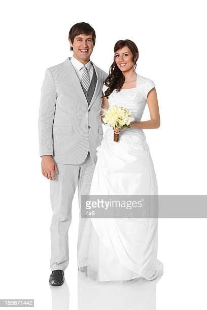 Frisch verheiratet Paar