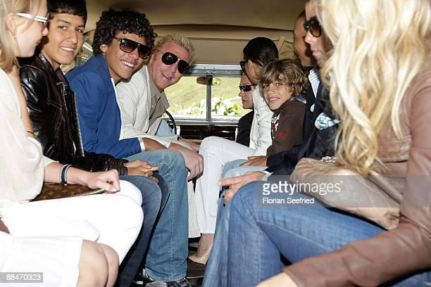 boris becker sons. newlyweds boris becker and sharlely boris\u0027s sons noah elias friends judith kamps