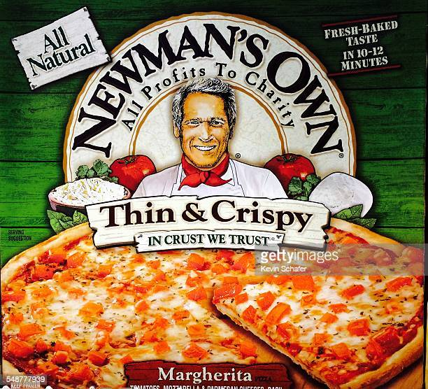 Newman's Own Margherita Pizza all profits support charity Thin Crispy Legacy of actor Paul Newman