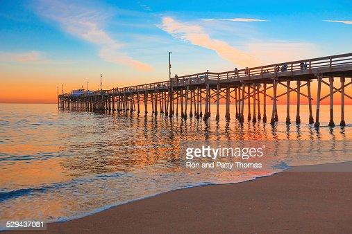Newport Beach Balboa Pier, RTE 1,Orange County California