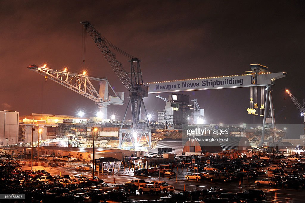 Newport News Shipyard which depends heavily on military and government contracts could be affected if budget action isn't taken to stop the sequester
