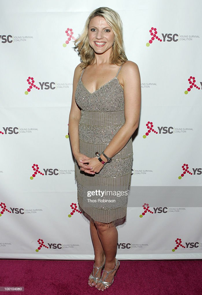 News 12 reporter Erica Zaky attends Young Survival Coalition Hosts 'In Living Pink' Benefit at Crimson on May 20, 2010 in New York City.