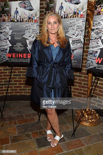 News anchor Alex Witt attends the 'Weiner' New York Screening at The Roxy Hotel on May 19 2016 in New York New York