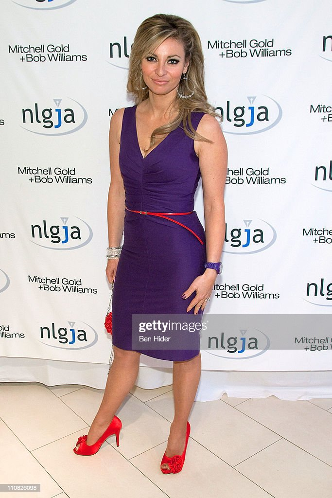 News Anchor Amanda Drury attends the National Lesbian & gay Journalists Association 16th Annual New York benefit at Mitchell Gold & Bob Williams SoHo Store on March 24, 2011 in New York City.