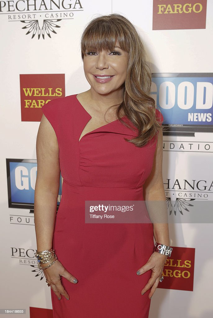 News anchor Ana Garcia attends the Good News Foundation's Feel Good event of the year honoring Maria Shriver with the Lifetime Achievement Award at The Beverly Hilton Hotel on October 13, 2013 in Beverly Hills, California.