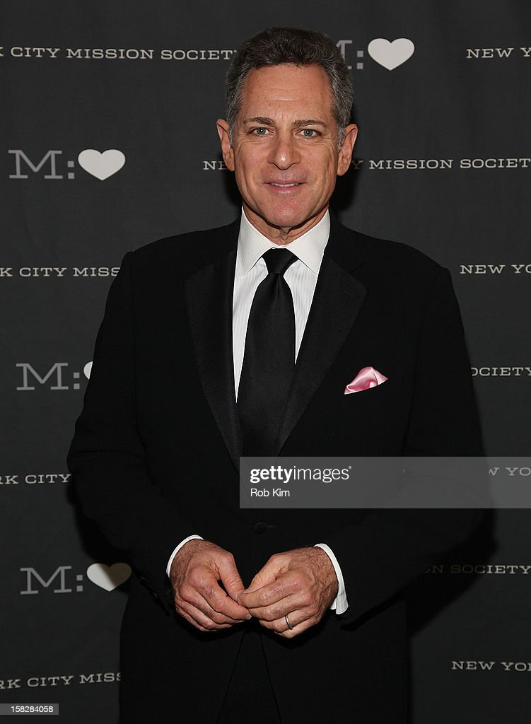 ABC news anchor Bill Ritter attends the 200th Anniversary New York City Mission Society Gala Dinner at The Pierre Hotel on December 12, 2012 in New York City.