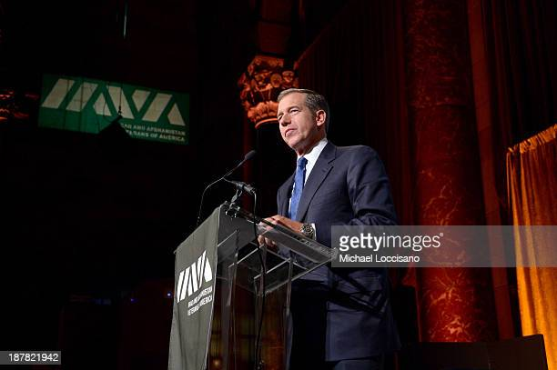 News anchor Brian Williams speaks on stage at the IAVA 7th Annual Heroes Gala at Cipriani 42nd Street on November 12 2013 in New York City