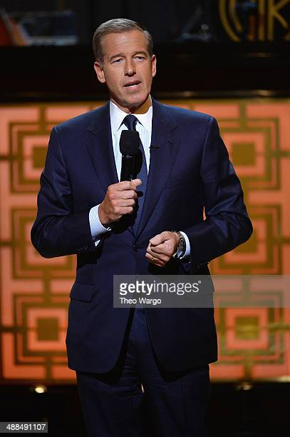 News Anchor Brian Williams speaks onstage at Spike TV's 'Don Rickles One Night Only' on May 6 2014 in New York City