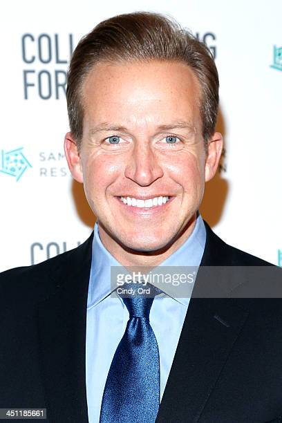 News anchor Chris Wragge attends Collaborating For A Cure 16th annual benefit dinner and auction at Park Avenue Armory on November 21 2013 in New...