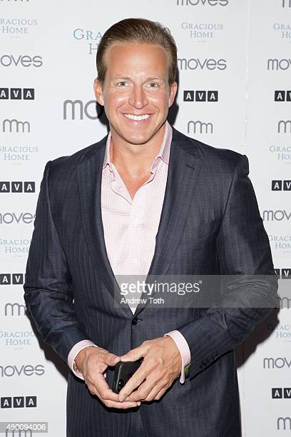 News anchor Chris Wragge attends New York Moves Magazine Presents Laura Dern 2014 Summer Issue Party at AVA Highline on June 4 2014 in New York City