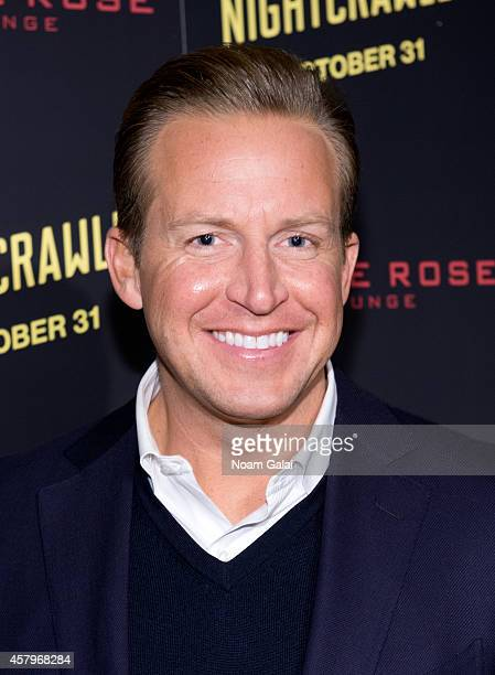 News anchor Chris Wragge attends the 'Nightcrawler' New York Premiere at AMC Lincoln Square Theater on October 27 2014 in New York City