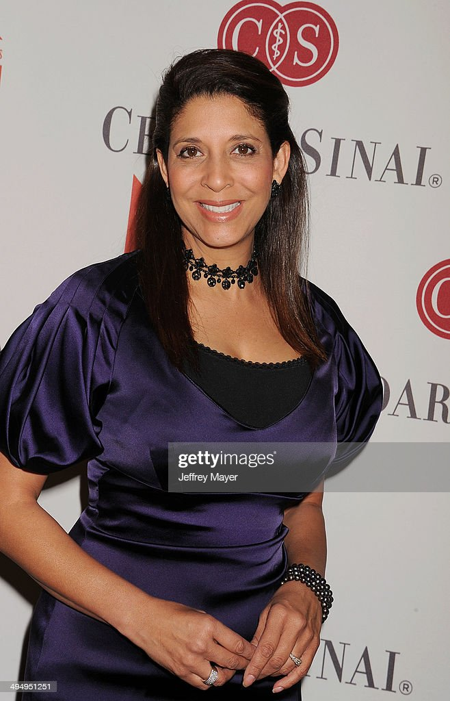 TV news anchor Christine Devine arrives at the The Helping Hand Of Los Angeles Mother's Day Luncheon at The Beverly Hilton Hotel on May 9, 2014 in Beverly Hills, California.