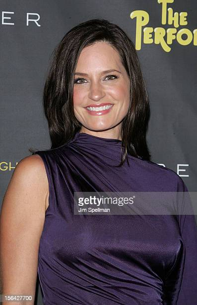 News Anchor Contessa Brewer attends 'The Performers' Broadway Opening Night at the Longacre Theatre on November 14 2012 in New York City
