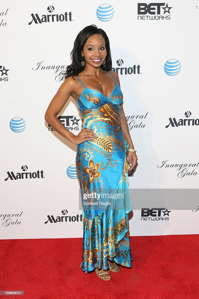 News Anchor Cynne Simpson attends the Inaugural Ball hosted by BET Networks at Smithsonian American Art Museum & National Portrait Gallery on January 21, 2013 in Washington, DC.