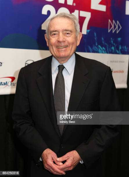 News anchor Dan Rather attends 'The War at Home Trump and the Mainstream Media' during 2017 SXSW Conference and Festivals at JW Marriott on March 16...