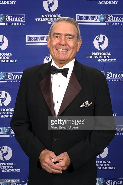 CBS News Anchor Dan Rather during 25th Annual NATAS News and Documentary Emmys 2004 Honoring Tom Brokaw at Mariott Marquis Hotel NY in New York NY...