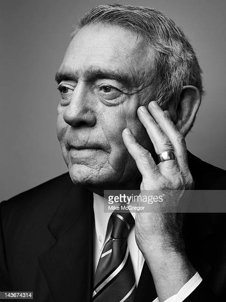 News anchor Dan Rather is photographed for Texas Monthly Magazine on March 23 2012 in New York City