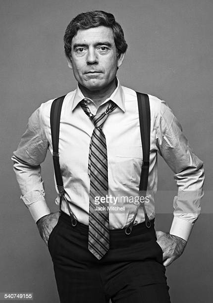 CBS News anchor Dan Rather photographed in December 1980