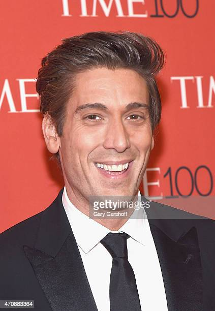 News anchor David Muir attends TIME 100 Gala TIME's 100 Most Influential People In The World at Frederick P Rose Hall Jazz at Lincoln Center on April...