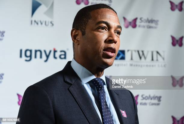 News Anchor Don Lemon attends the Solving Kids' Cancer Spring Celebration 10 Years of Hope and Healing at Mandarin Oriental New York on May 10 2017...