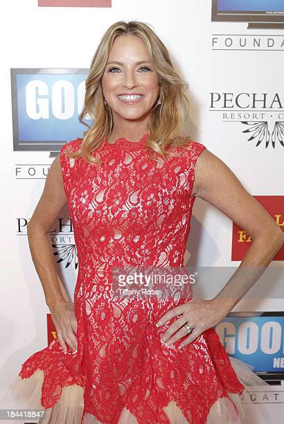News anchor Dorothy Lucey attends the Good News Foundation's Feel Good event of the year honoring Maria Shriver with the Lifetime Achievement Award...