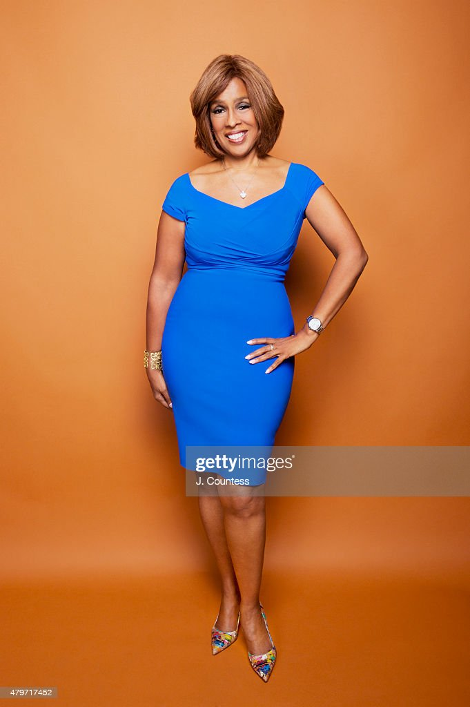 News anchor Gayle King poses for a portrait at the American Black Film Festival on June 12, 2015 in New York City.