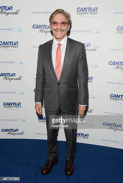 News anchor Geraldo Rivera attends the annual Charity Day hosted by Cantor Fitzgerald and BGC at Cantor Fitzgerald on September 11 2015 in New York...