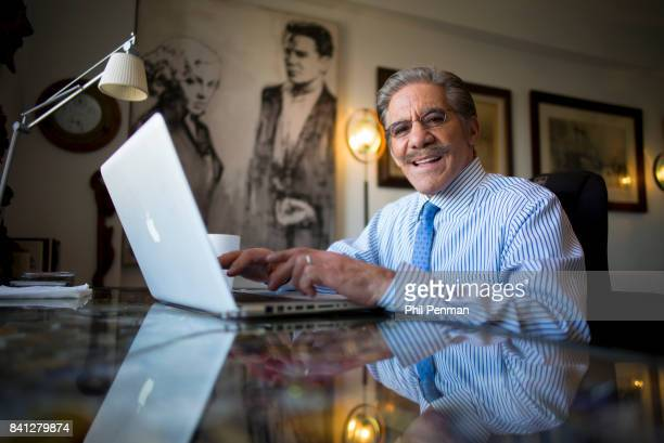 News anchor Geraldo Rivera is photographed for Closer Weekly Magazine on April 15 2016 at home in New York City