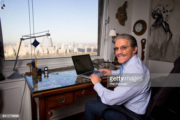 News anchor Geraldo Rivera is photographed for Closer Weekly Magazine on April 15 2016 at home in New York City PUBLISHED IMAGE