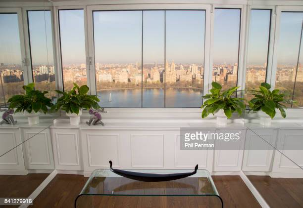 News anchor Geraldo Rivera's home is photographed for Closer Weekly Magazine on April 15 2016 in New York City The view from the home PUBLISHED IMAGE