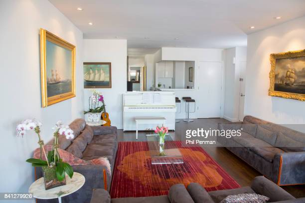 News anchor Geraldo Rivera's home is photographed for Closer Weekly Magazine on April 15 2016 in New York City PUBLISHED IMAGE
