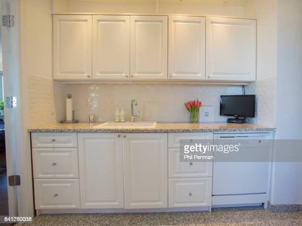 News anchor Geraldo Rivera's home is photographed for Closer Weekly Magazine on April 15 2016 in New York City Kitchen