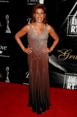 News Anchor Hoda Kotb arrives at the announcement of the honorees for the Gracie Award by American Women in Radio Television at the New York Marriott...